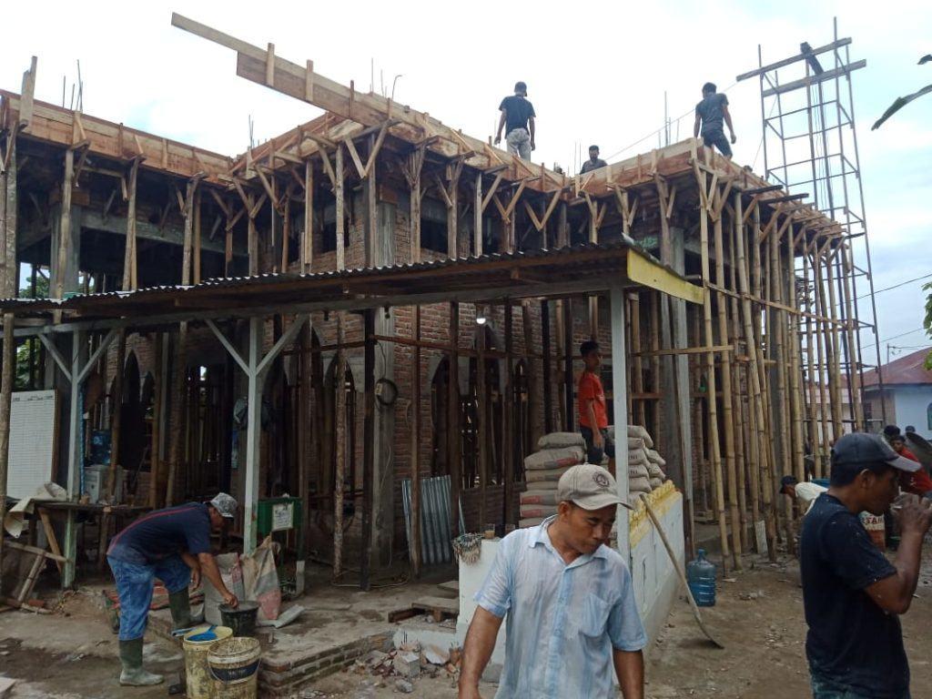 BKPRMI Tebing Tinggi, Kembali Unjuk Gigi Renovasi Masjid