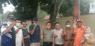 Antisipasi ISPA, PT Siringo-Ringo Bersama Pemkab Labuhanbatu Berbagi Masker