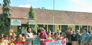 Polwan Banjar, Laksanakan Goes To School