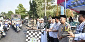 Polres Banjar, Adakan Pawai Tarhib Sambut Tahun Baru Islam