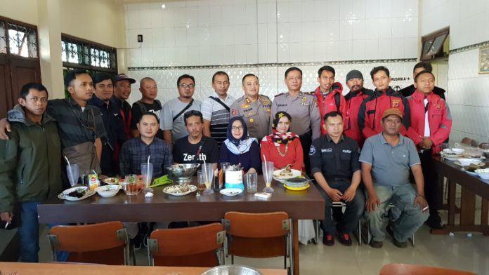 Kapolres Banjar, Silaturahmi dengan Jurnalis