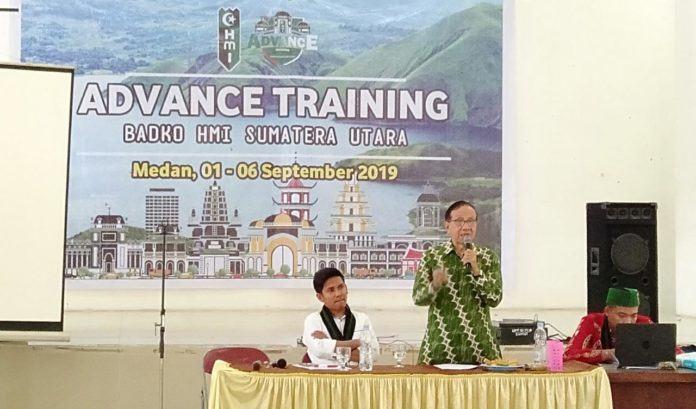 Advance Training HMI Sumut, Akbar Tanjung: HMI Didirikan untuk Indonesia