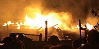 Kampung Rakyat, Ada Dua Kebakaran Lahan Dalam Satu Hari