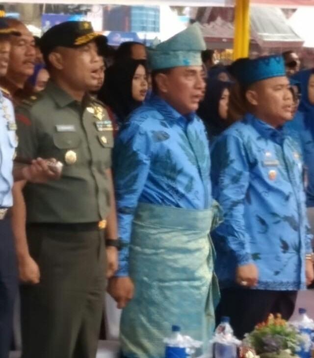 Kunjungan Gubernur Sumut, Buka Jambore TTG