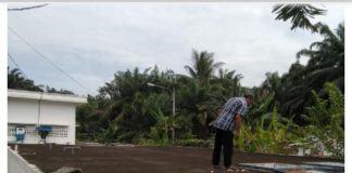 Krisis Air Bersih,Warga Kota Pinang Konsumsi Air Kuning