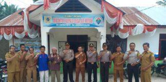 Kapolsek Kampung Rakyat, Silaturahmi ke Kantor Desa Air Merah