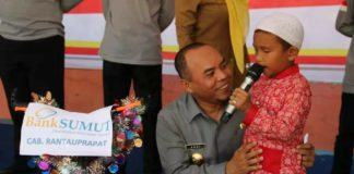 Plt Bupati Labuhanbatu, Sebut Banyak Peristiwa Menyudutkan Anak-Anak