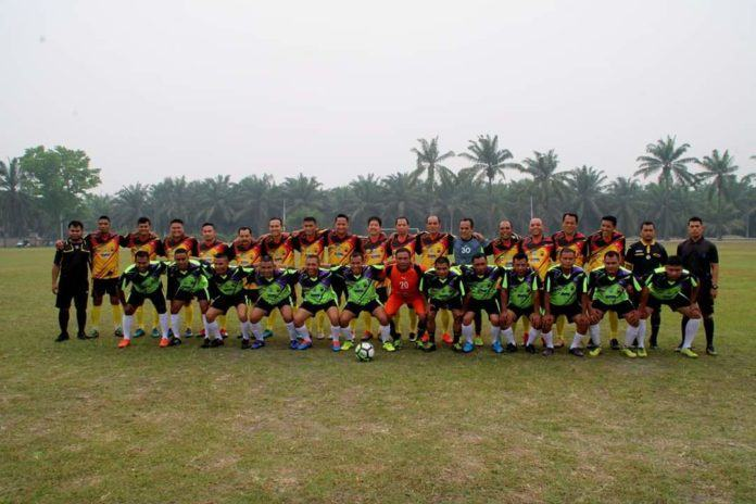 Sepak Bola Labuhanbatu, Pemkab VS Kodim 0209/LB