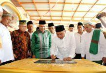 Plt Bupati Labuhanbatu, Resmikan Masjid Nurul Iman