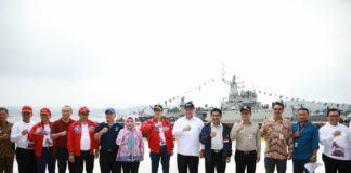 Sail Nias 2019, Mendes dan Menkumham Tinjau Lokasi Acara Puncak