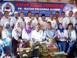 Pengurus Besar IKA UMA Periode 2019-2023 Laksanakan Raker