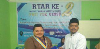 Chotibul Umam Sirait, Ketua PMII Rayon FDIK UIN Sumut