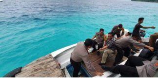 Kapolda Sumut, Perjalanan Tugas ke Pulau Terpencil