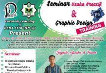 Lazuardi Learning, Ayo Ikutin Seminar Usaha Kreatif dan Pelatihan Desai Grafis