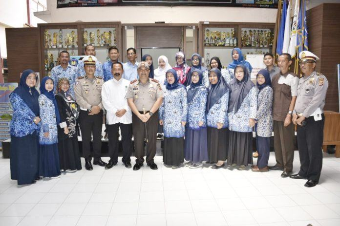 Kapolres Banjar, Sosialisasi Keselamatan Berlalu Lintas