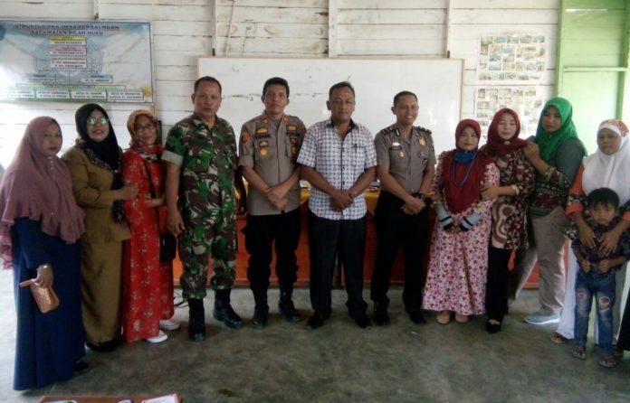 Kapolsek Bilah Hulu, Berbagi Ilmu Pengetahuan dengan Masyarakat Desa Perbaungan
