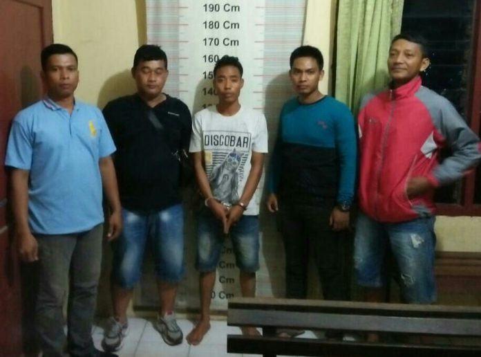 Polsek Padang Tualang, Amankan Eman Setelah Terbukti Memiliki Narkotika