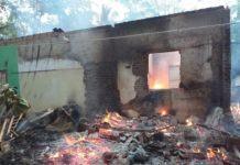 Kebakaran Rumah Cimaragas, Diduga Berasal dari Tungku Memasak