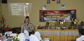 Kapolres Banjar, Sosialisasi Wujudkan Sekolah Citanduy