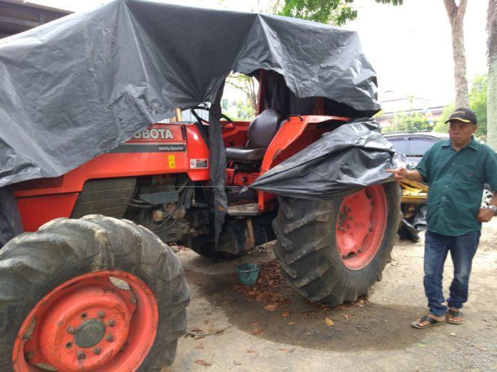Dinas Pertanian Labuhanbatu, Usut Asset Alat Berat Jonder Kubota