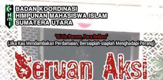 Badko HMI Sumut, Serukan Cabang dan Komisariat Aksi Damai