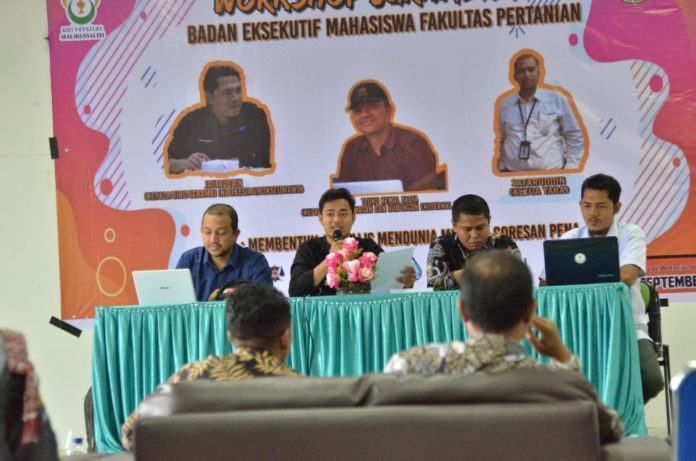BEM FP Unimal, Gelar Pelatihan Jurnalistik