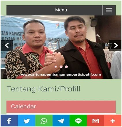 TA P3MD Simalungun, Launching Website Fasilitas Perkuat Pendamping Desa