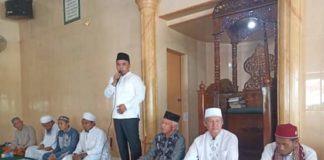 Bupati Labuhanbatu, Silaturahmi Dengan Jama'ah Mesjid Al-Ikhlas Aek Siranda