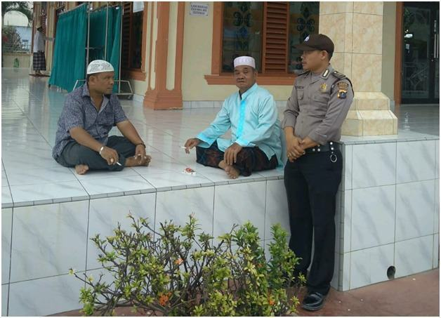 Polsek Torgamba, Aktif Dalam Pengawalan Beribadah