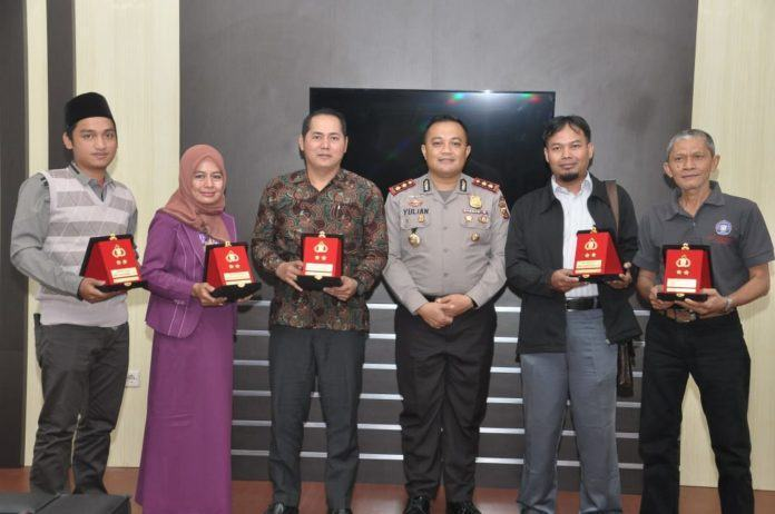 Kapolres Banjar, Silaturahmi dengan Rektor Universitas