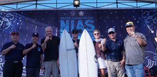 Sail Nias 2019, Surfing Internasional Resmi Dibuka