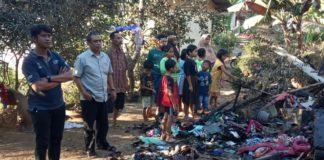 Anggota DPRD Ciamis, Berikan Semangat Korban Kebakaran