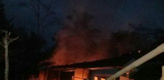 Rumah Terbakar Tasikmalaya, Diduga Korsleting Listrik