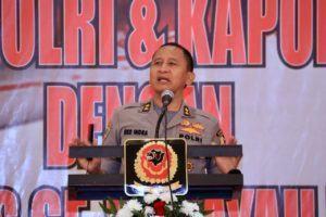 Kapolres Banjar, Hadiri Kegiatan Arahan Kapolres Se-Wilayah Priangan