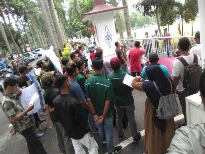 GDSM Deliserdang, Syafrin dan Rosa Tagih Pembayaran Swakelola
