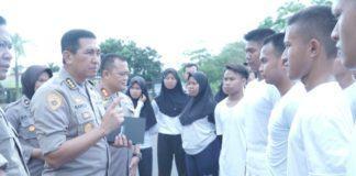 Mapolres Banjar, Binlat Calon Personil Polri Tahun 2019