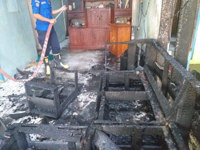 Kebakaran Rumah Langensari, Diduga Korsleting Listrik