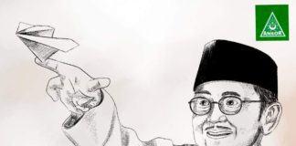 GP Ansor Pematangsiantar: BJ Habibie Suritauladan Untuk Anak Muda