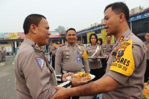 HUT Lalulintas, Polres Labuhanbatu Rayakan Bersama Pimpinan Baru