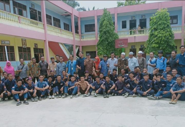 SMK YPT P Brandan, Laksanakan Sosialisasi Pengembangan Teknologi 4.0