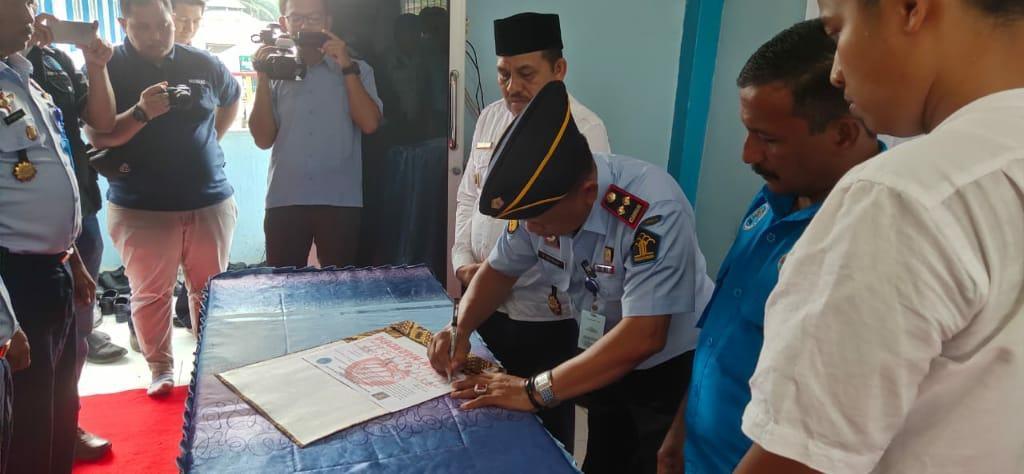 Lapas IIB Langsa, Tanda Tangan Pakta Integritas Berantas Narkoba