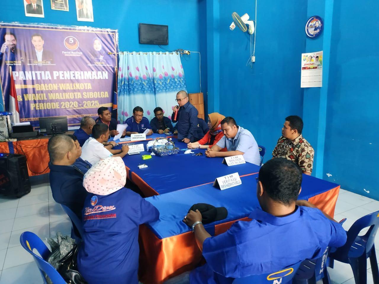 Daftar Ke Nasdem, AKM Didampingi Komandan Wilayah KOKAM Sumut