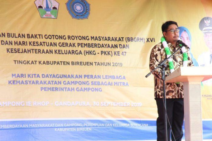 Direktur PMD, Semangat Gotong Royong Masyarakat AcehJadi Contoh Nasional