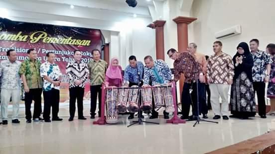 Diskominfo Labuhanbatu, Ikuti Lomba Pementasan Media Tradisional/Pertunjukan Rakyat