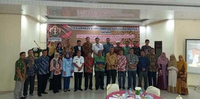 Fakultas Hukum Unimal, Kerja Sama dengan Stakeholders