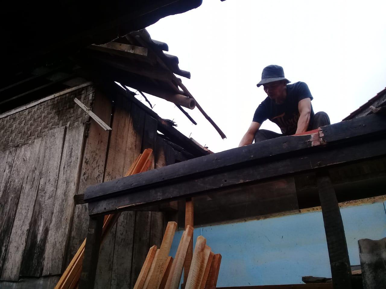 Rumah Ciamis Terbakar, Diduga Akibat Tungku Masak