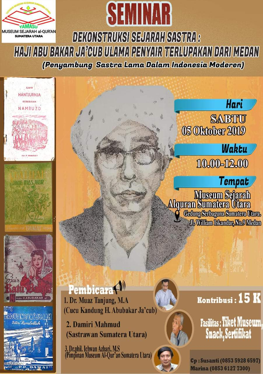 Ulama Penyair Medan, Belasan Buku Puisinya Best Seller