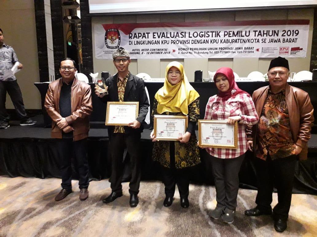 KPU Kota Banjar, Raih 2 Penghargaan