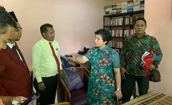 Komisioner KPK Terpilih, Kunjungi BBH UISU
