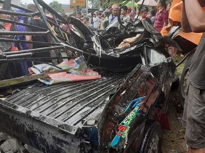 Kecelakaan di Sibolangit, 5 Kendaraan Terlibat